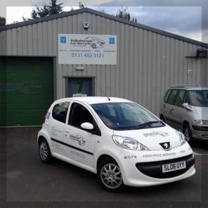 Image of Edinburgh Car Services premises