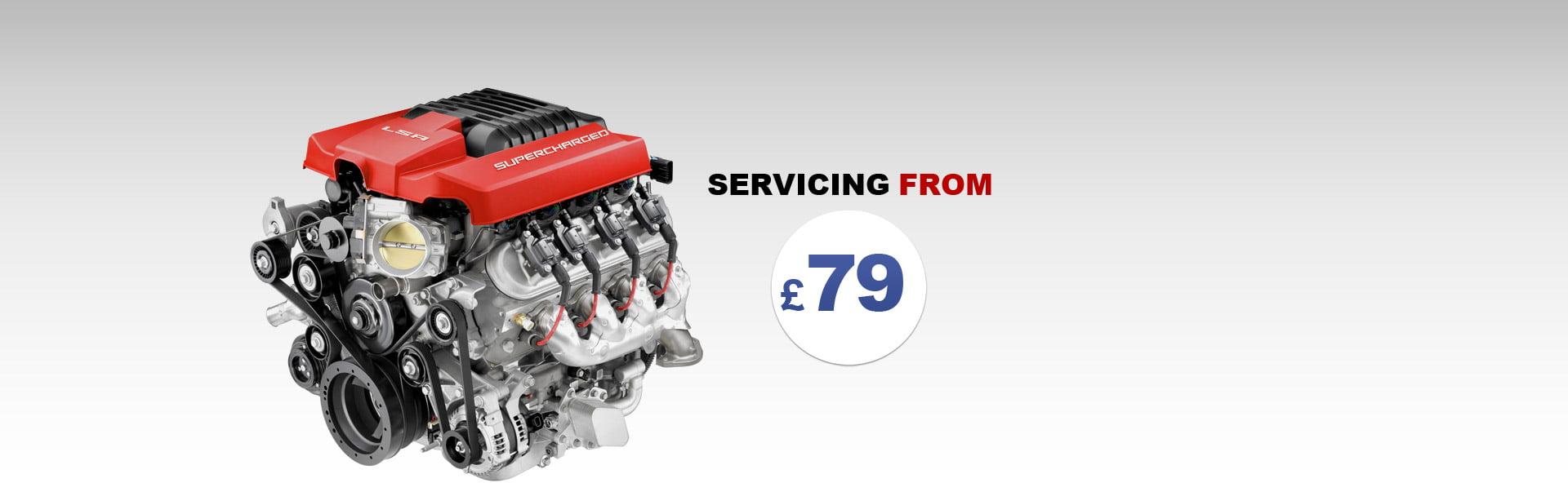 Car Servicing in Edinburgh from £79