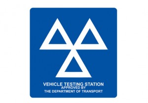 Vehicle Testing Station approved by the department of transport